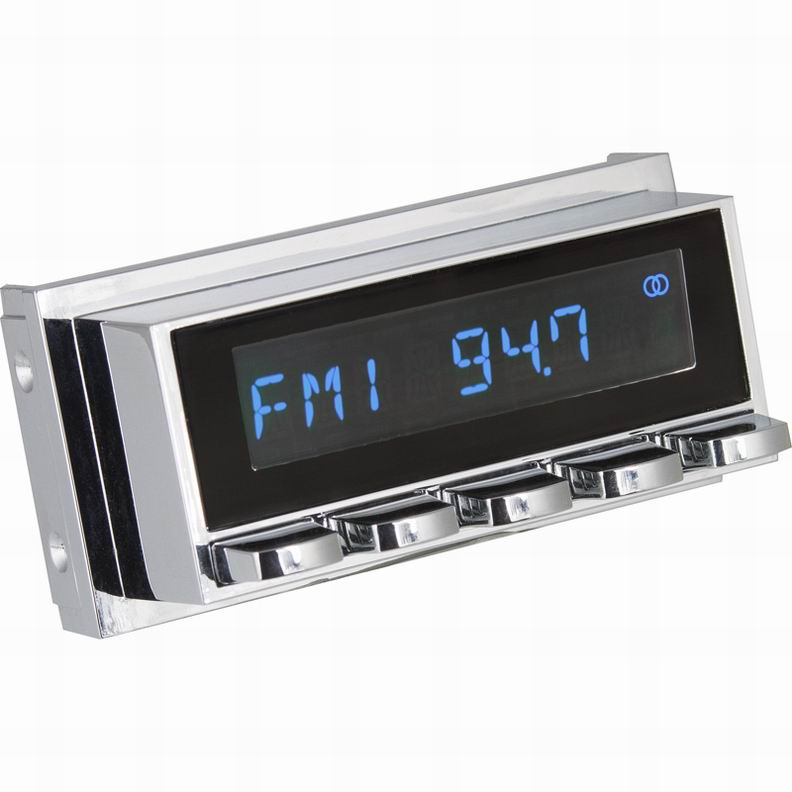 fur-Cadillac-DeVille-Coupe-1959-60-Oldtimer-Radio-DAB-UKW-USB-Bluetooth-AUX-in miniatuur 3